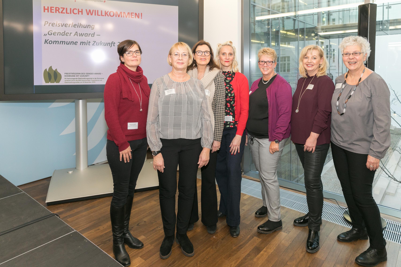 004 Gender Award 2019 2. Preisträgerin Stadt Bochum