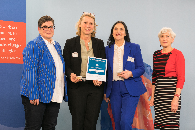 009 Gender Award 2019 Nominierte Kommune Braunschweig