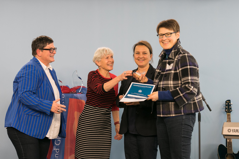 011 Gender Award 2019 Nominierte Kommune Braunschweig