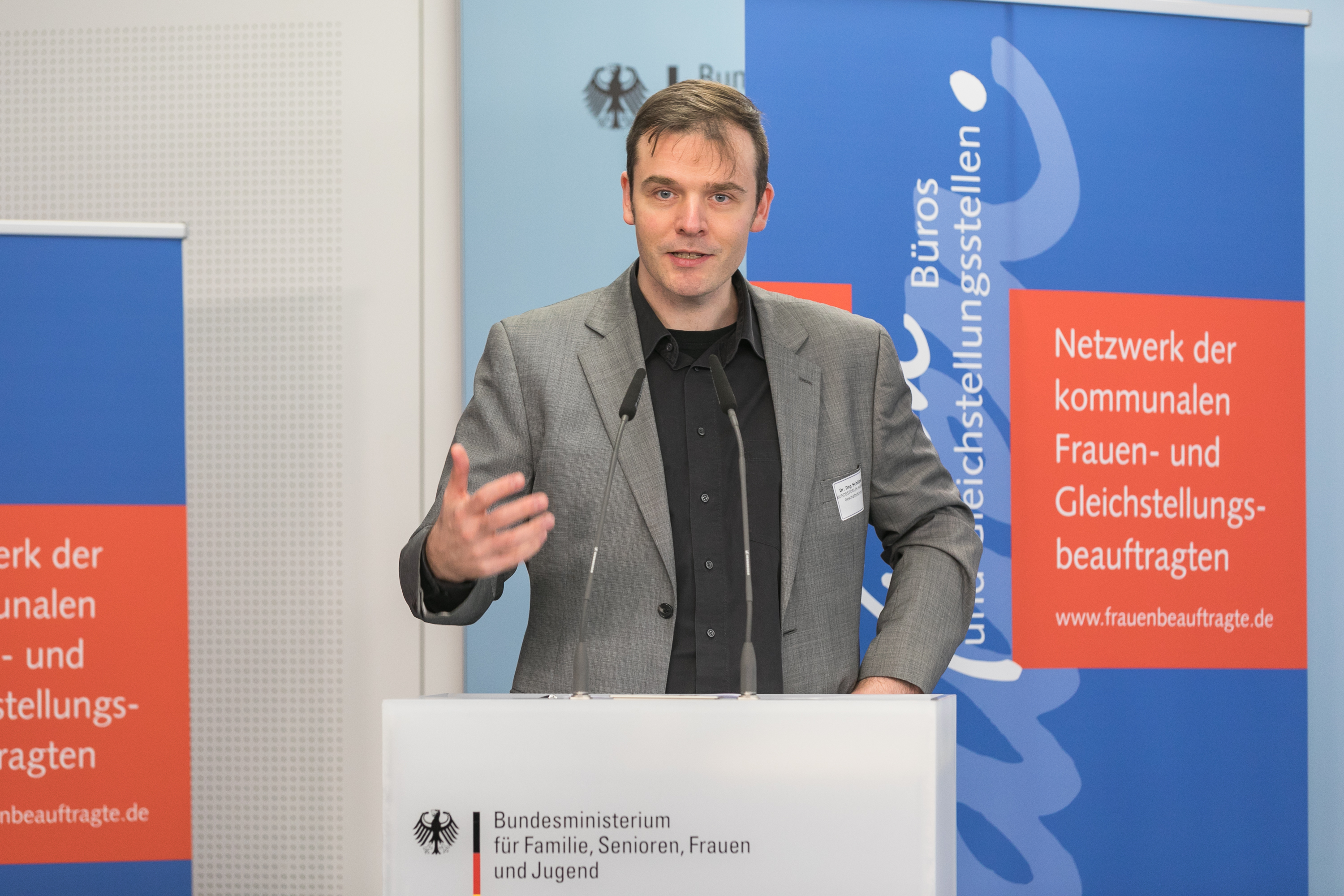 013 Gender Award 2019 Dag Schölper Bundesforum Männer