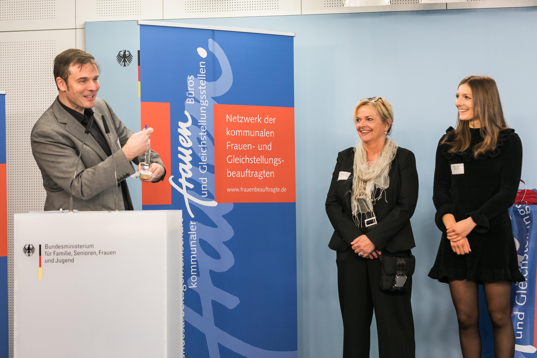 014 Gender Award 2019 Preisträgerinnen aus Brühl Antje Cibura Gleichstellungsbeauftragte