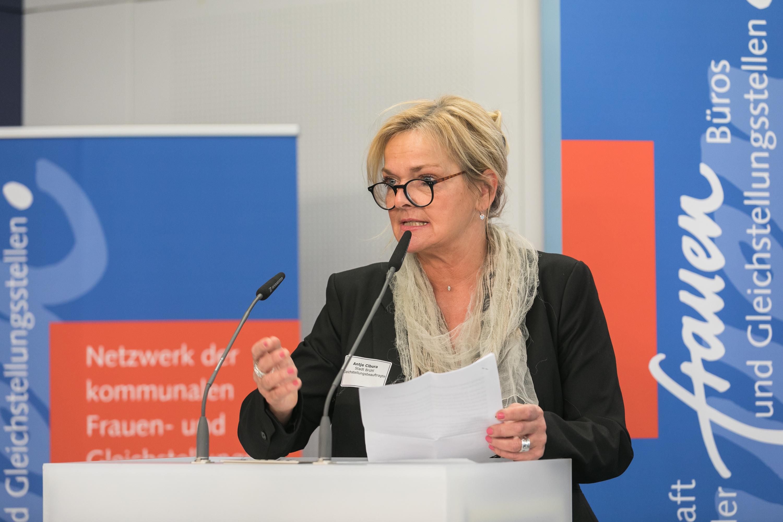 016 Gender Award 2019 Preisträgerinnen aus Brühl Antje Cibura Gleichstellungsbeauftragte