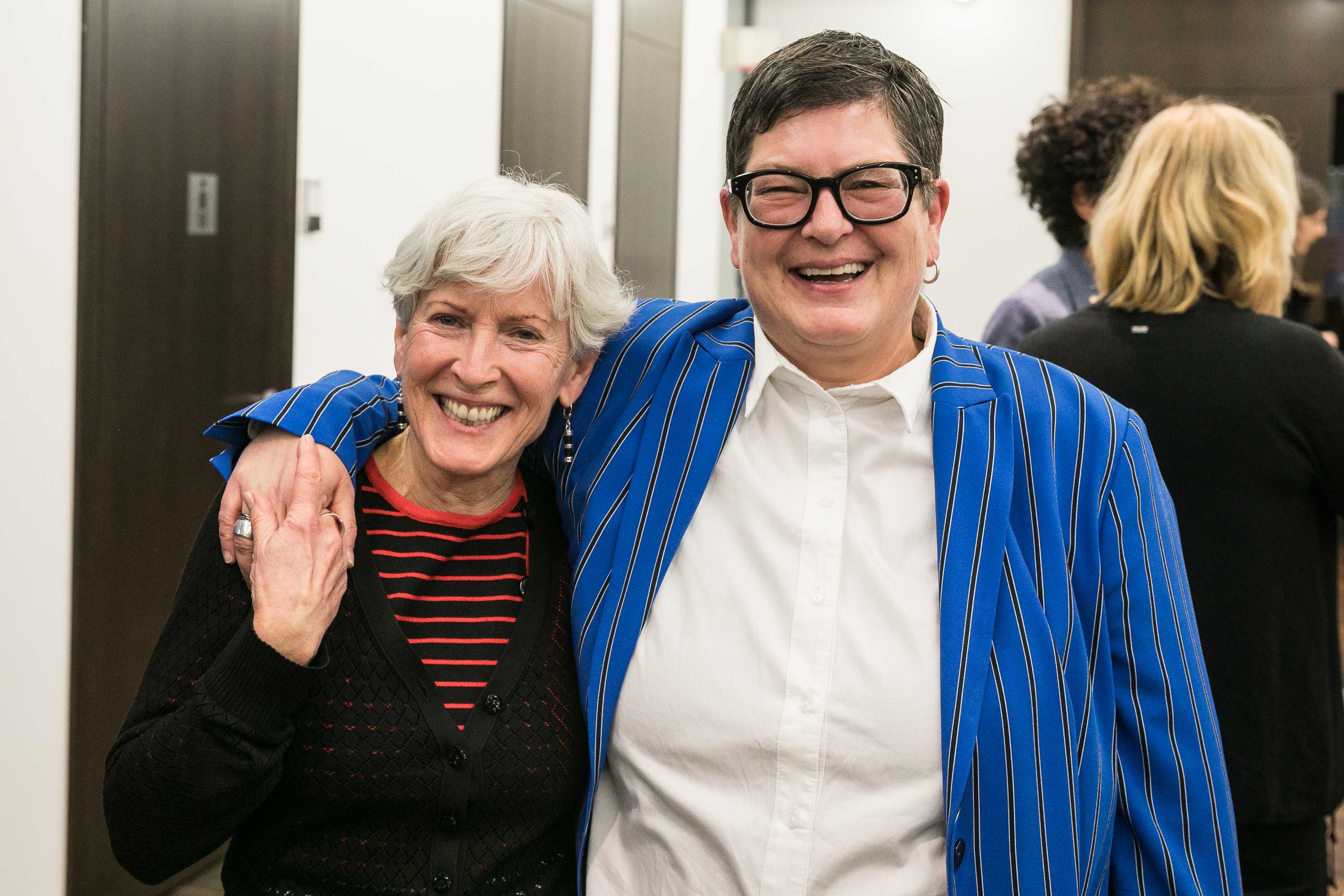 037 Gender Award 2019 Roswitha Bocklage und Heike Gerstenberger BAG Bundessprecherinnen