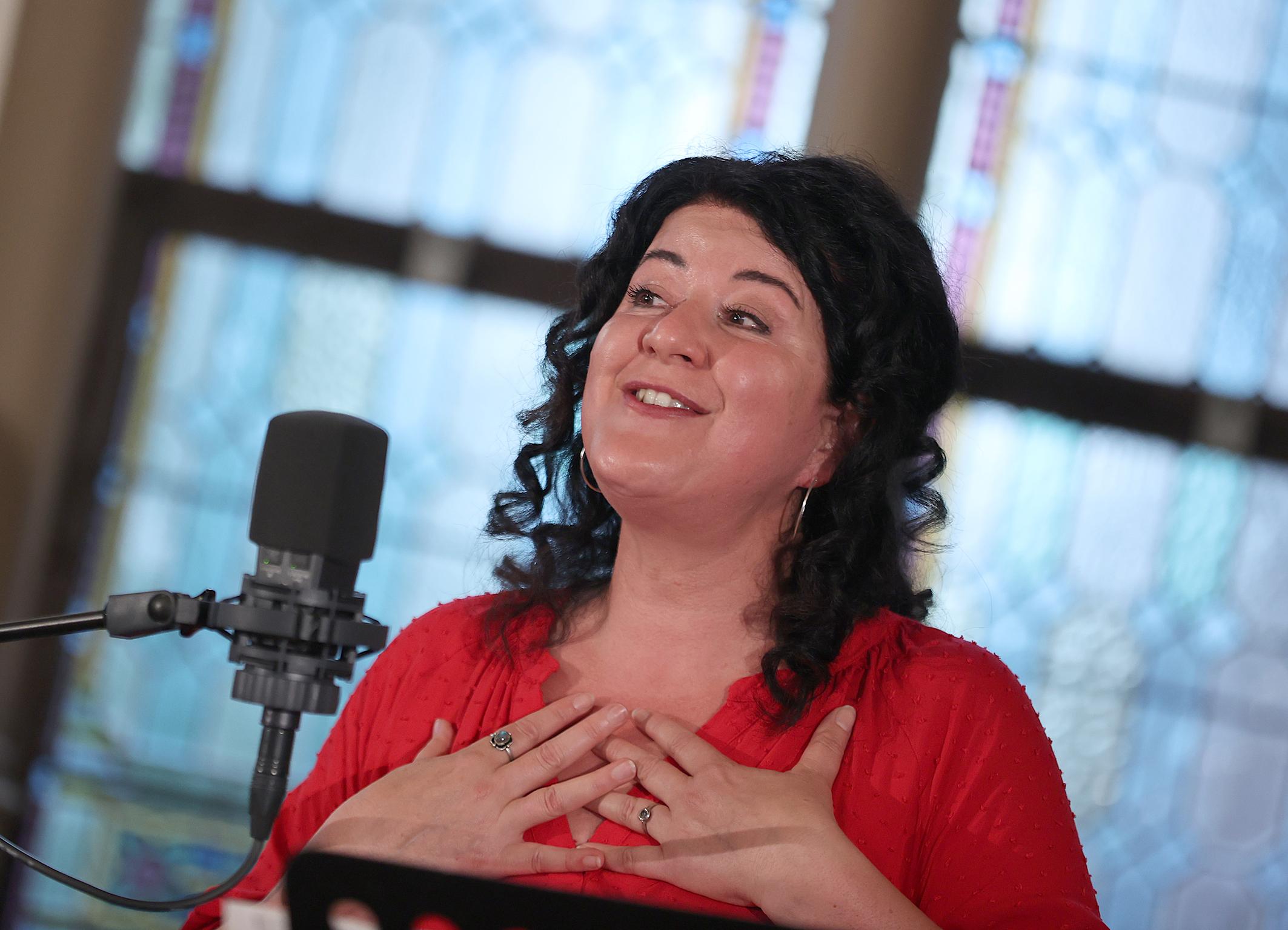 29.08.2021 Empfang aus Flensburg Sängerin Moa