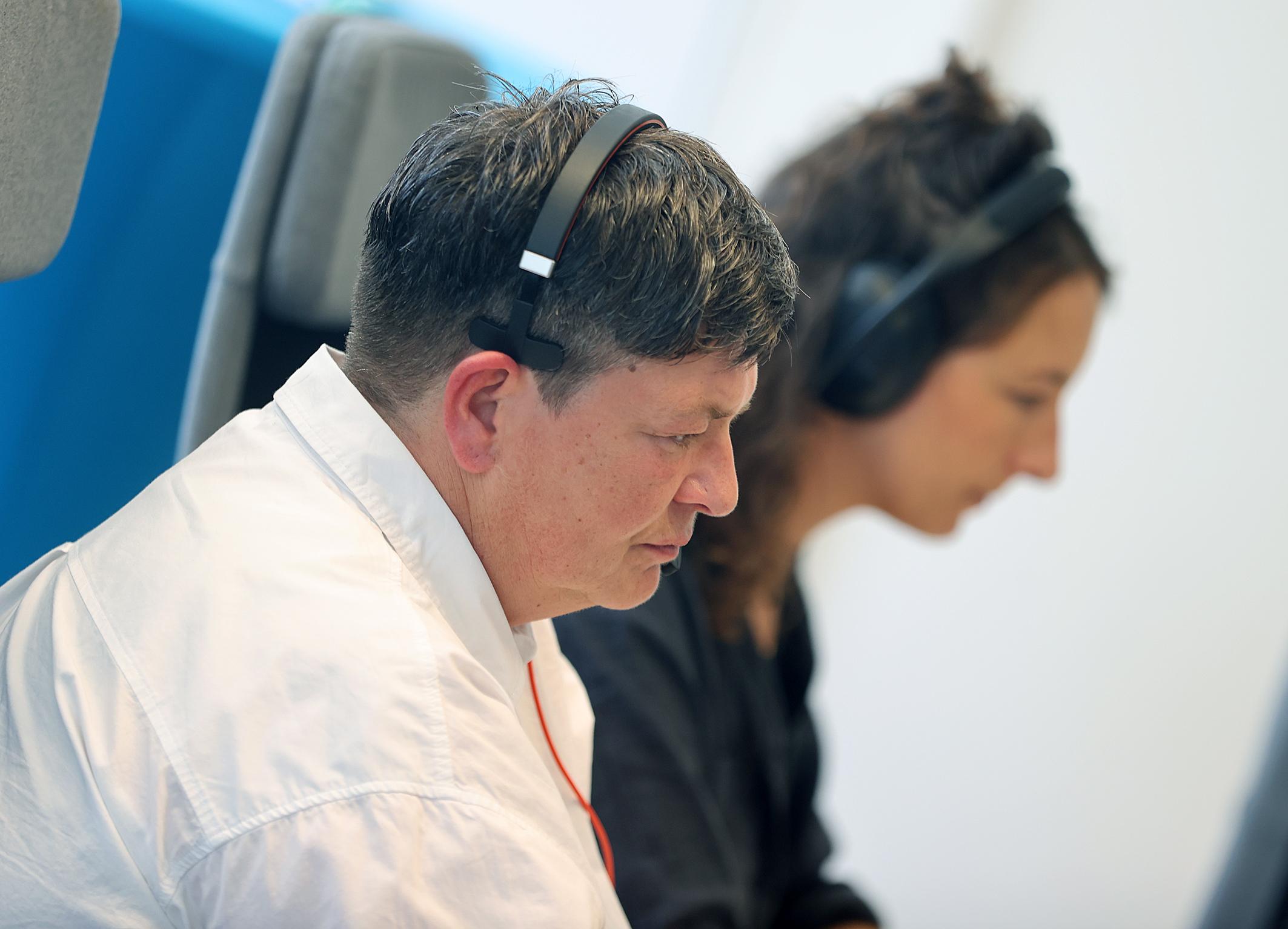 31.08.2021 Digitale Pressekonferenz Roswitha Bocklage und Celestine Hassenfratz