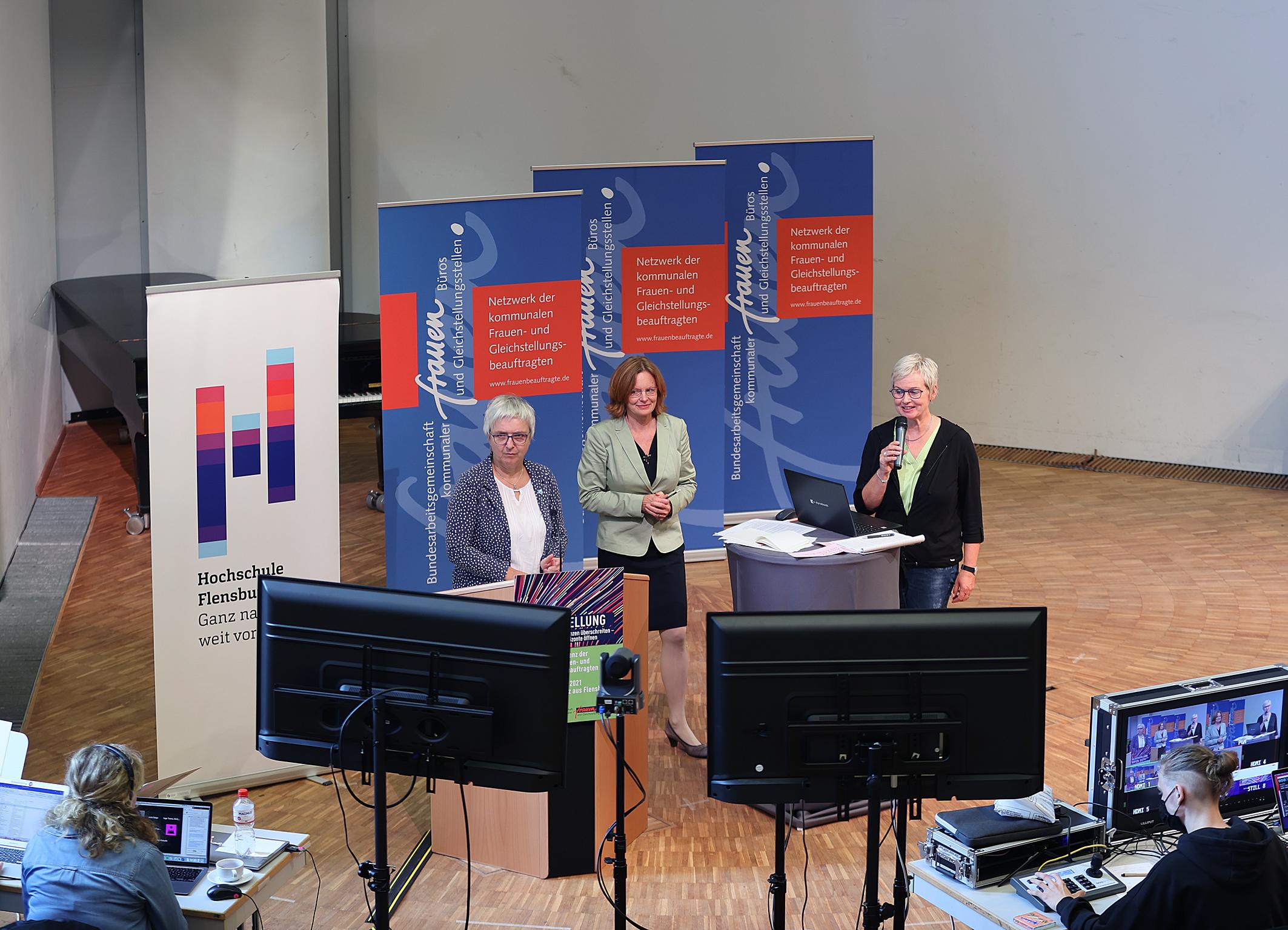 30.08.2021 Forum Dagmar Krok, Verena Balve und Inge Trame