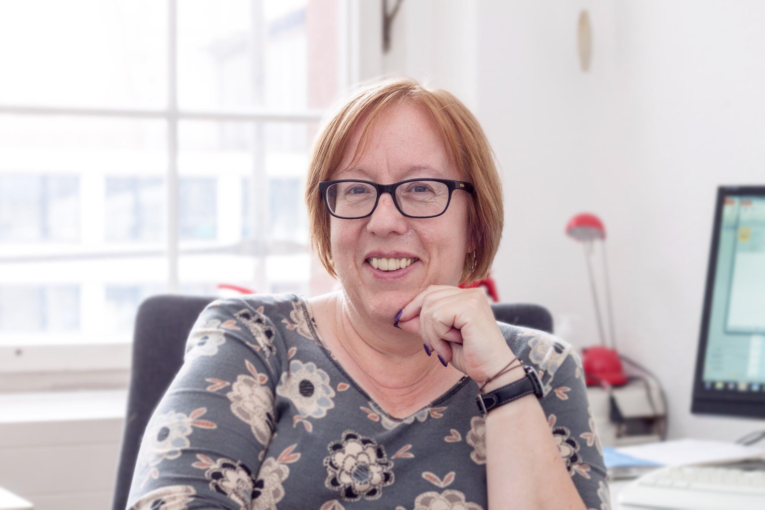 Sabine Falkensteiner, Gleichstellungsbeauftragte der Stadt Dessau-Roßlau