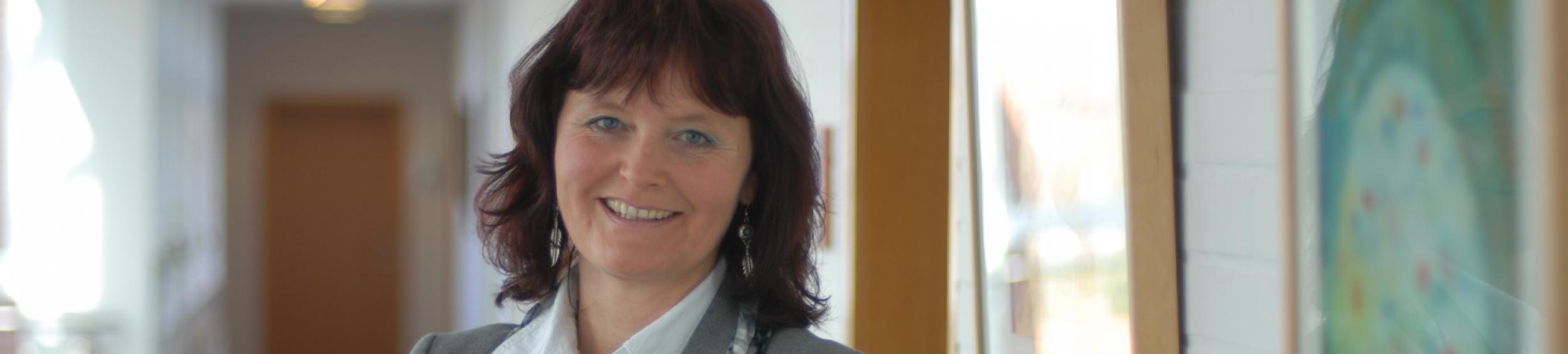 Antje Oltmanns, Gleichstellungsbeauftragte der Gemeinde Großenkneten