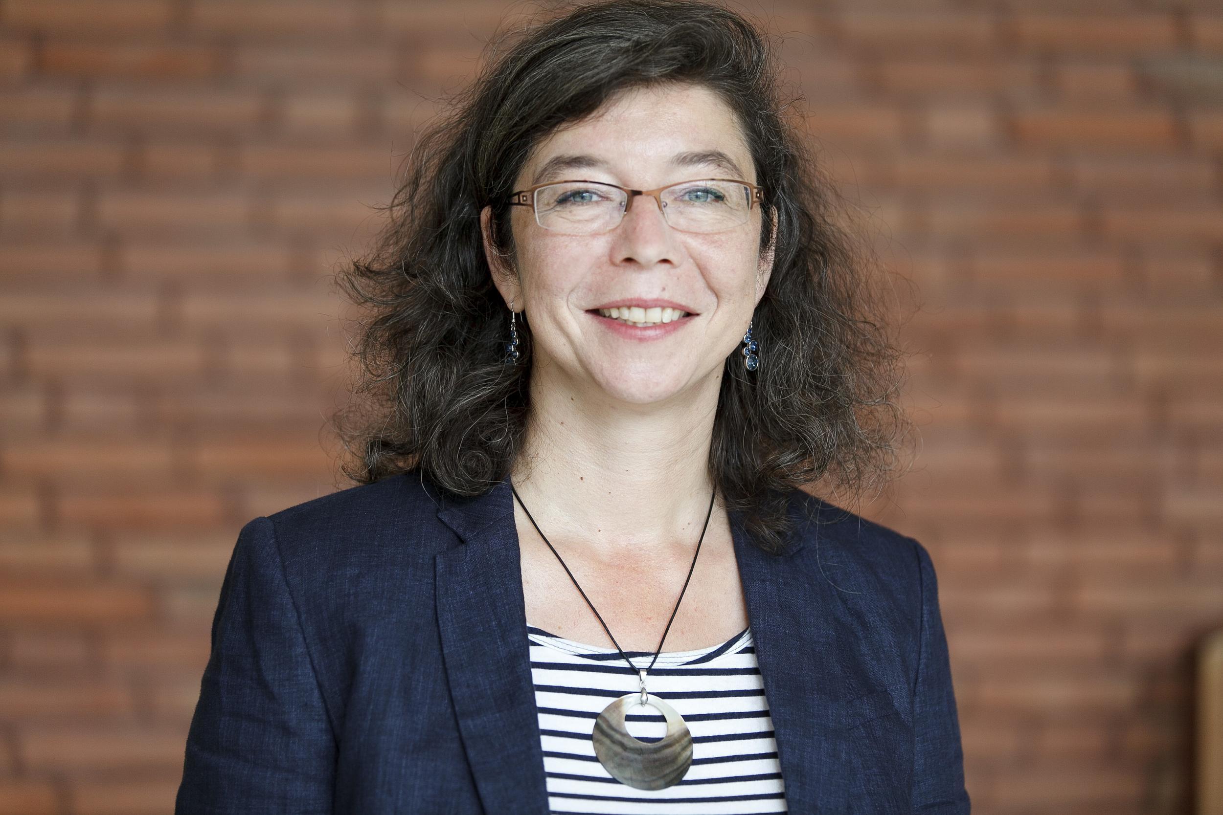 Antje Schmidt-Schleicher, Mitarbeiterin Gleichstellungsstelle der Stadt Münster