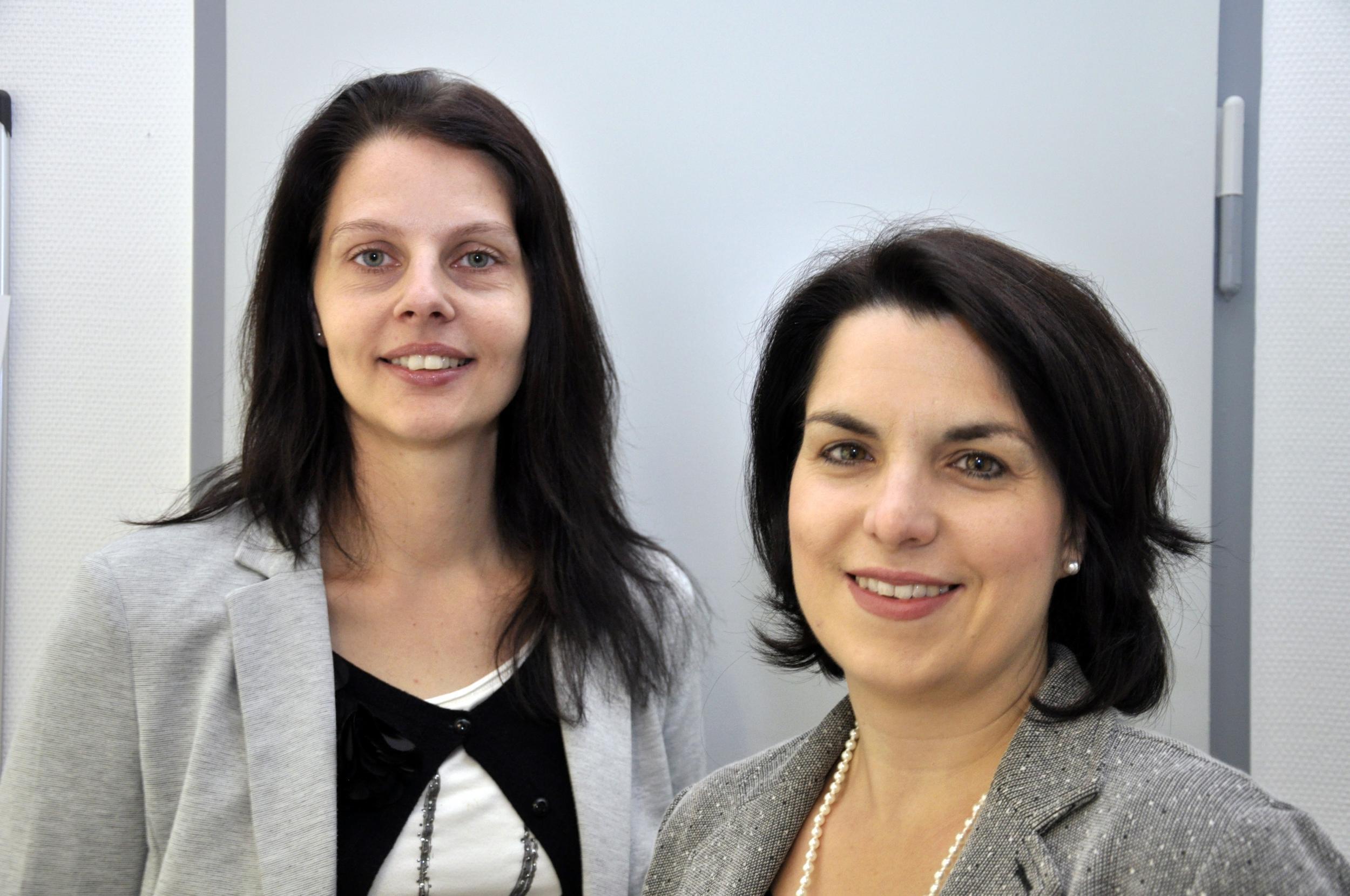 Nicole Schmitt & Melanie Knauf, Frauenbeauftragte Kreis Bergstrasse