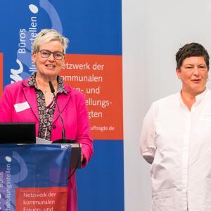 004 Inge Trame und Roswitha Bocklage Bundessprecherinnen