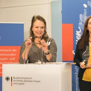 023 Gender Award 2019 1. Preisträgerinnen aus München