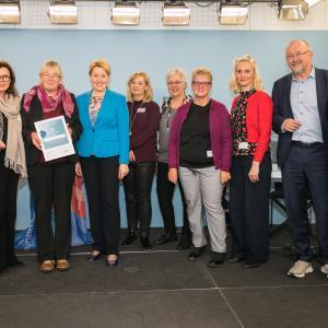 029 Gender Award 2019 2. Preisträgerinnen das Erfolgsteam aus Bochum