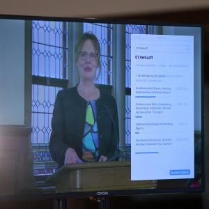 29.08.2021 Empfang aus Flensburg Digitale Umfrage Verena Balve