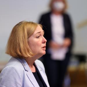 31.08.2021 Vorstellung neue Sprecherinnen Katrin Bruninghold