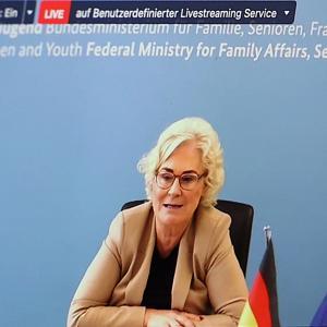 30.08.2021 Eröffnung Ministerin, BMFSFJ, Christine Lambrecht