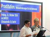 Roswitha Bocklage und Inge Trame, BAG Bundessprecherinnen