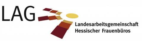 Logo der Landesarbeitsgemeinschaft der kommunalen Frauenbeauftragten Hessen