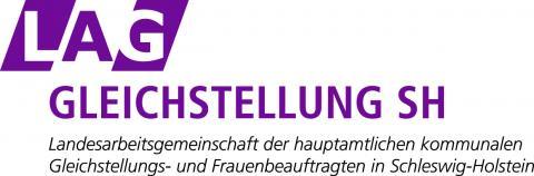 Logo der Landesarbeitsgemeinschaft (LAG) der hauptamtlichen kommunalen Frauen- und Gleichstellungsbeauftragten Schleswig-Holstein