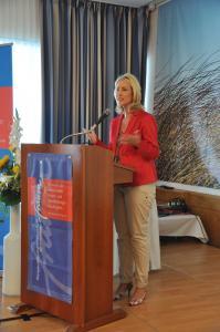 Bundesministerin Manuela Schwesig / Fotografin Petra Willert