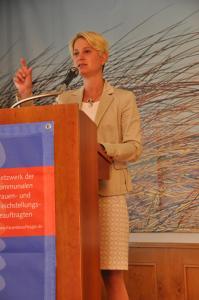 Birgit Hesse - Ministerin für Arbeit, Gleichstellung und Soziales des Landes Mecklenburg Vorpommern / Fotografin Petra Willert