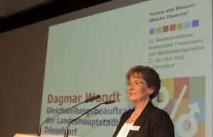 Dagmar Wandt, Landeshauptstadt Düsseldorf (ehemalige Gleichstellungsbeauftragte)