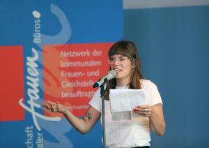Svenja Gräfen, Poetry Slam