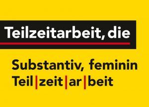 """""""Teilzeitarbeit, die"""" : Maike Przybill, Johanna Wolf"""